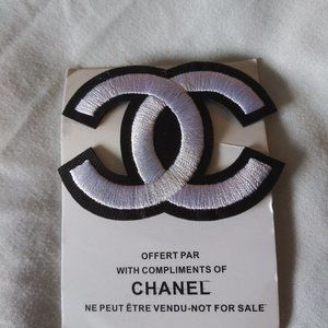Chanel VIP Customer Gift White with Black CC Logo